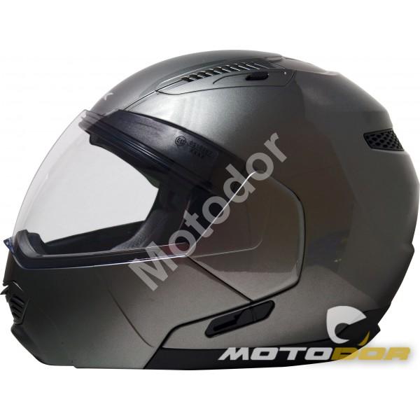 Casque Moto Modulable Spin Visiere Solaire Ksk Motodor