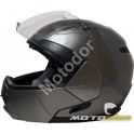 CASQUE MOTO MODULABLE SPIN + VISIERE SOLAIRE KSK