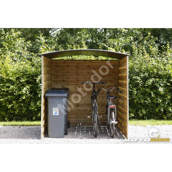 abri ext rieur pour motos et scooters 180x180x200cm motodor. Black Bedroom Furniture Sets. Home Design Ideas